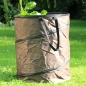 Preview: Pop-Up-Gartenabfall-Tasche  150 L - braun