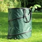 Preview: Pop-Up-Gartenabfall-Tasche  150 L - gruen