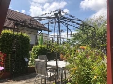 Pavillon ausstellungsst ck for Garten shop