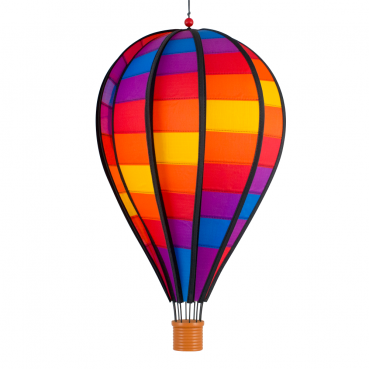 Windspiel Ballon Patchwork
