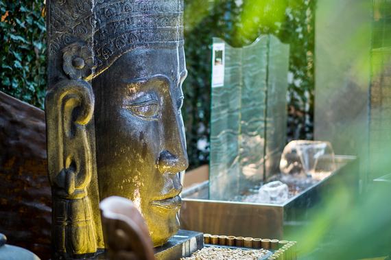 buddha kopf wasserspiel 1 35 m hoch komplett set www. Black Bedroom Furniture Sets. Home Design Ideas