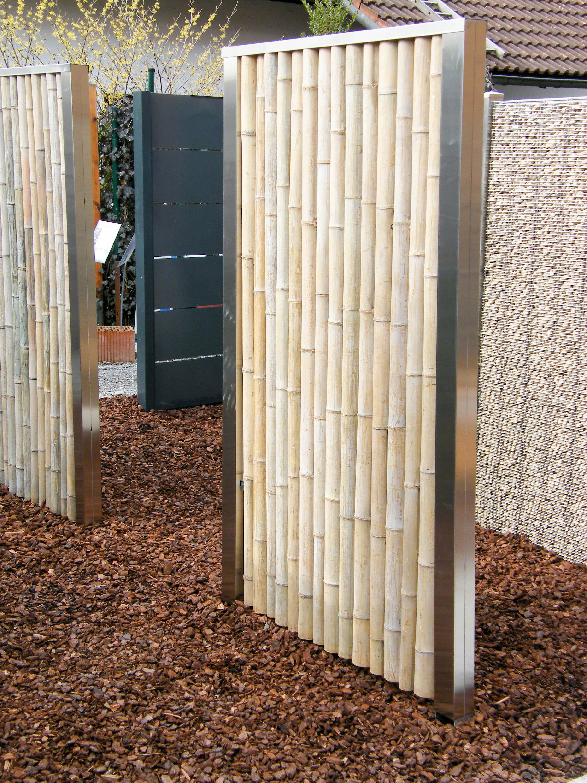 bambus sichtschutz 180 x 90 cm. Black Bedroom Furniture Sets. Home Design Ideas