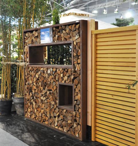 cortenstahl holzlege sichtschutz 200 x100cm t 75 www. Black Bedroom Furniture Sets. Home Design Ideas