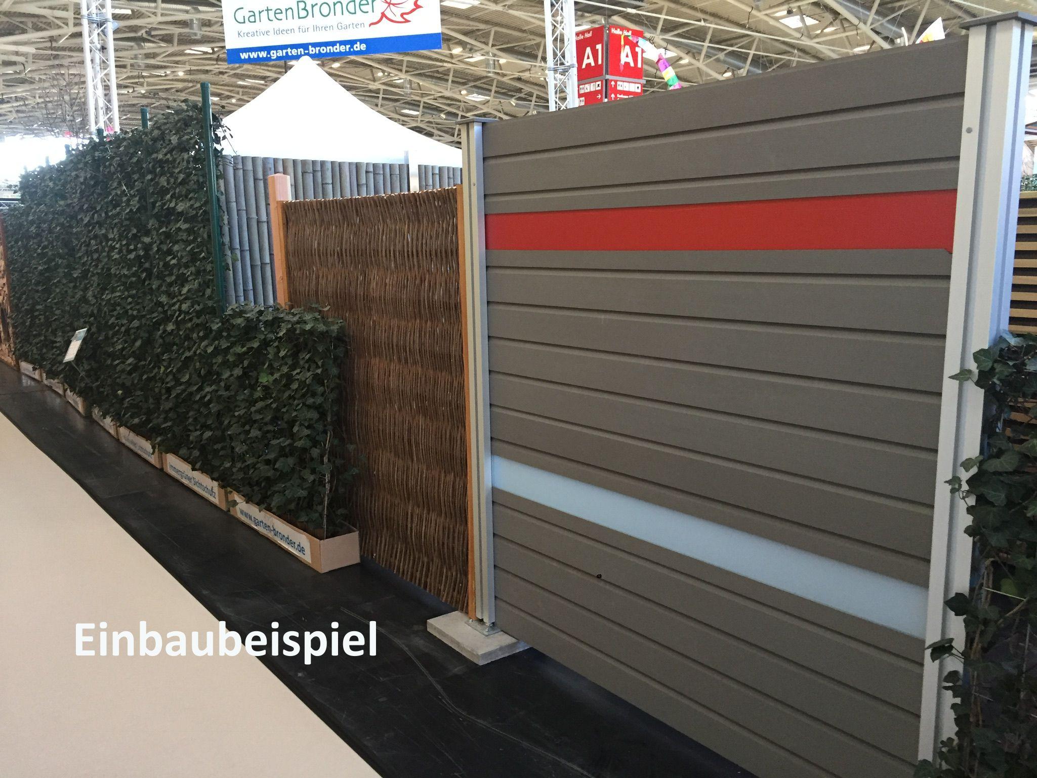 Multi Fence BPC Zaun 181 x 186 cm bronder shop