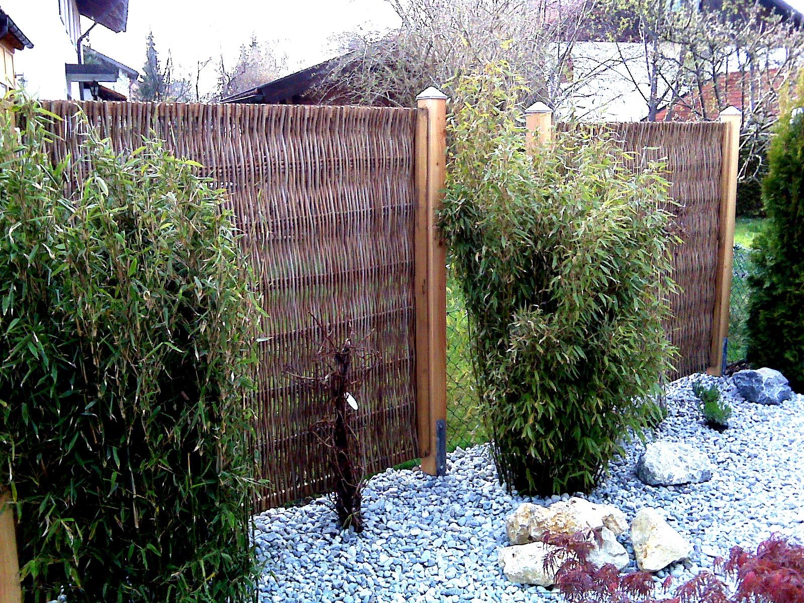 Sichtschutz Robinie Mit Rahmen 160x180 Cm Www Garten Bronder