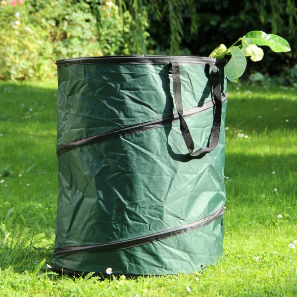 Pop-Up-Gartenabfall-Tasche  150 L - gruen
